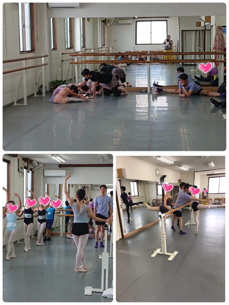 プロバレエダンサー「ハン先生」の特別レッスン
